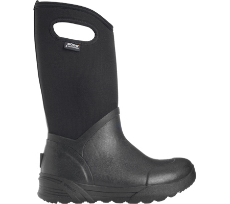 Men's Bogs Bozeman Tall Boot, Black Rubber, large, image 2