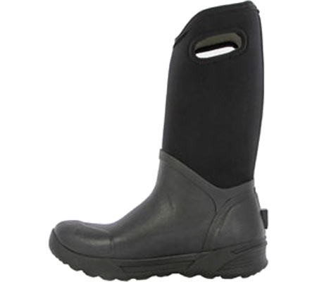 Men's Bogs Bozeman Tall Boot, Black Rubber, large, image 3