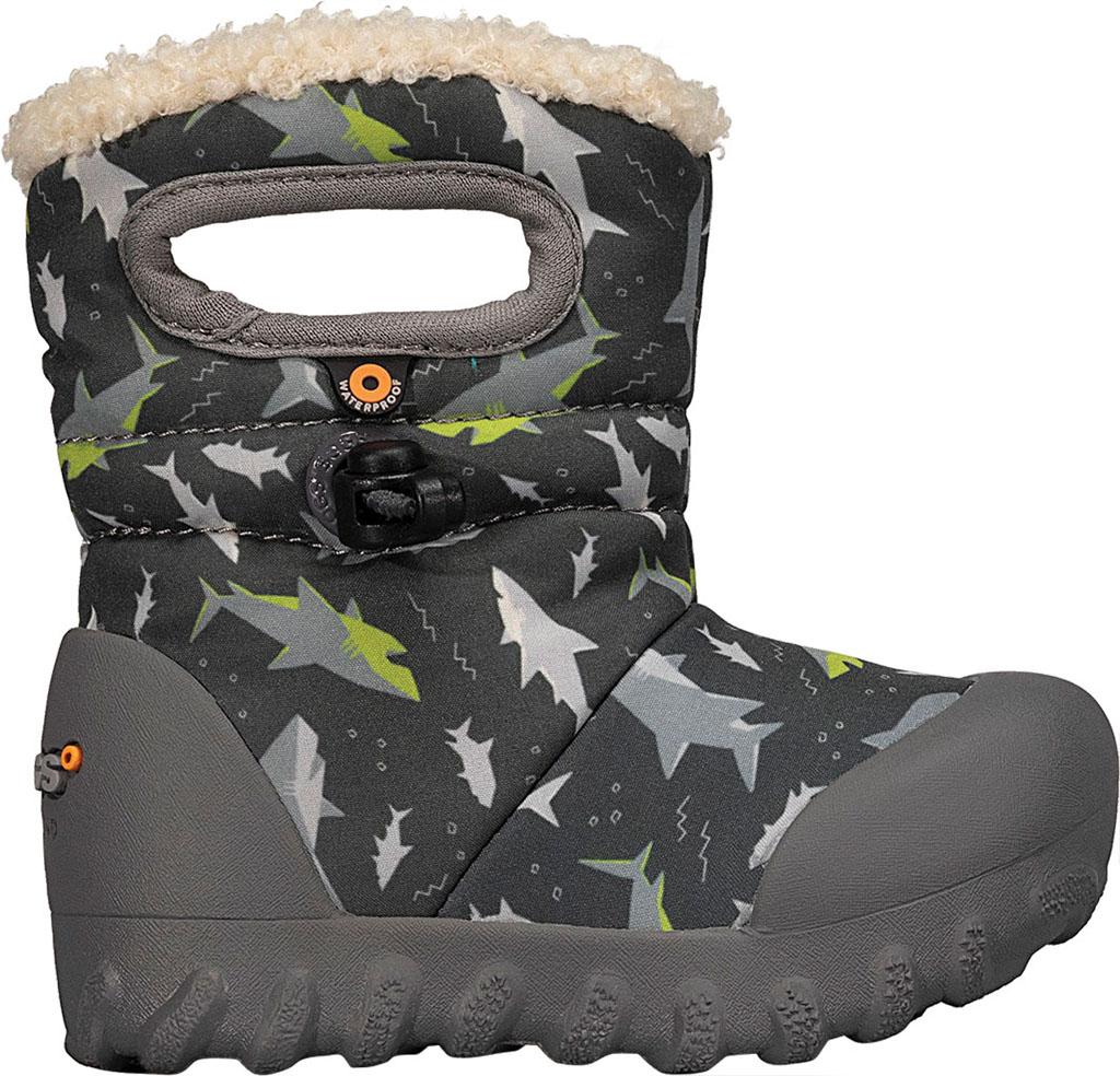 Infant Bogs B Moc Infant Boot, Dark Gray Multi, large, image 2
