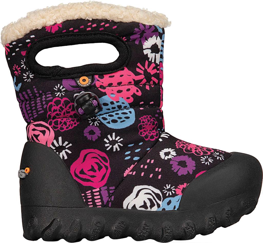 Infant Bogs B Moc Infant Boot, Black Multi Garden Party Polyester, large, image 2