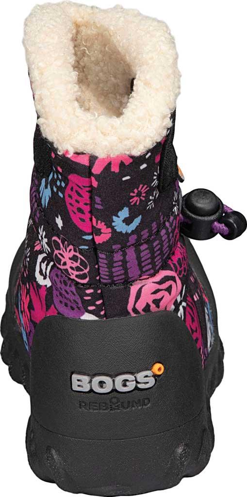 Infant Bogs B Moc Infant Boot, Black Multi Garden Party Polyester, large, image 4