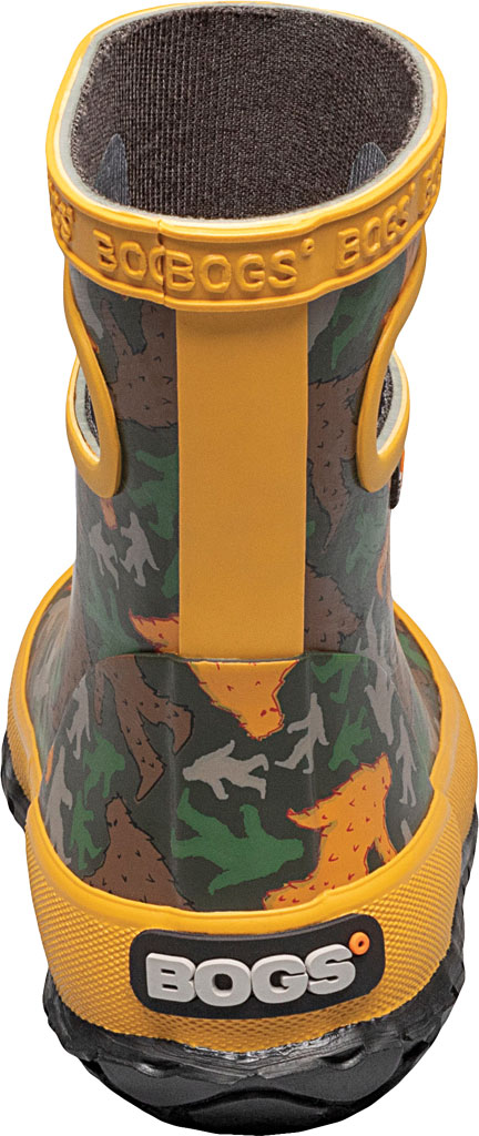 Infant Bogs Skipper Kids Boot, Army Green Multi/Big Foot Rubber, large, image 4