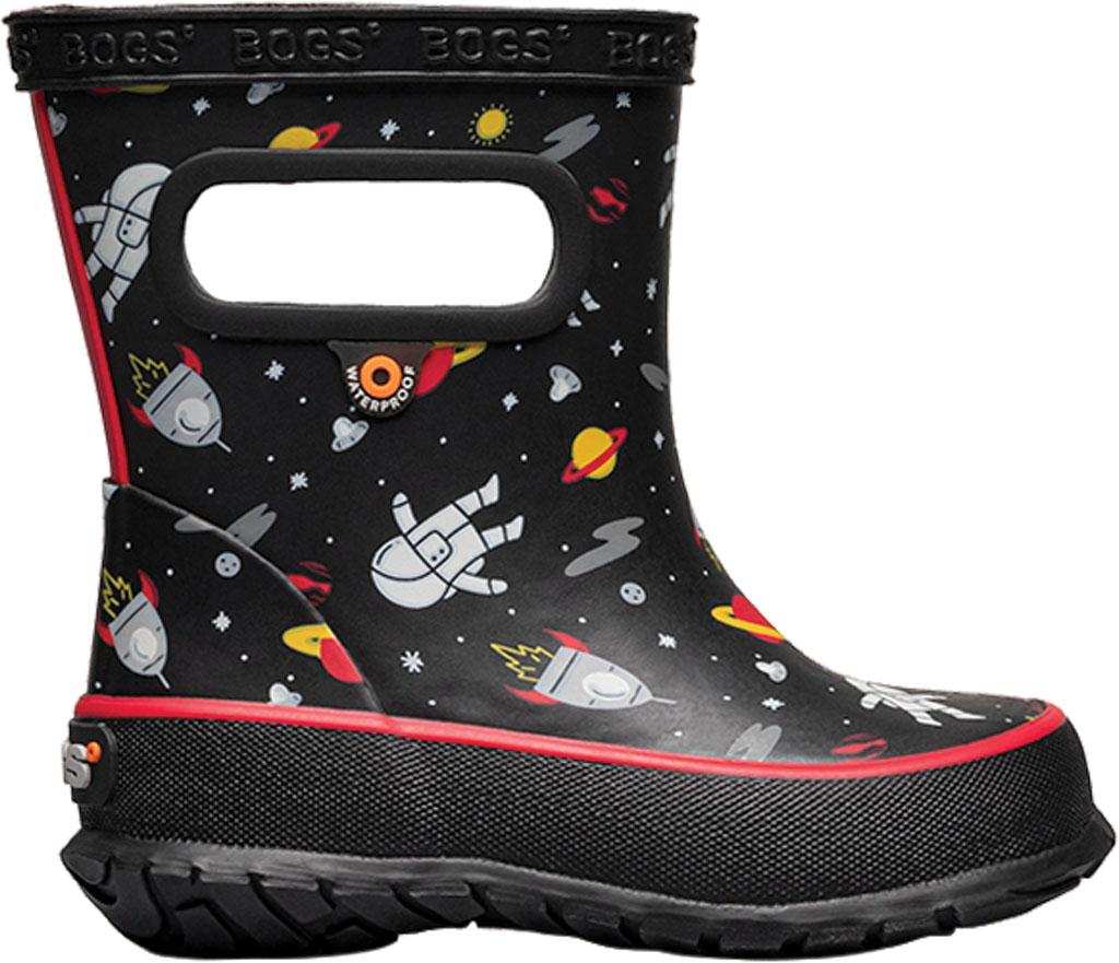 Infant Bogs Skipper Kids Boot, Black Multi/Space Man Rubber, large, image 2