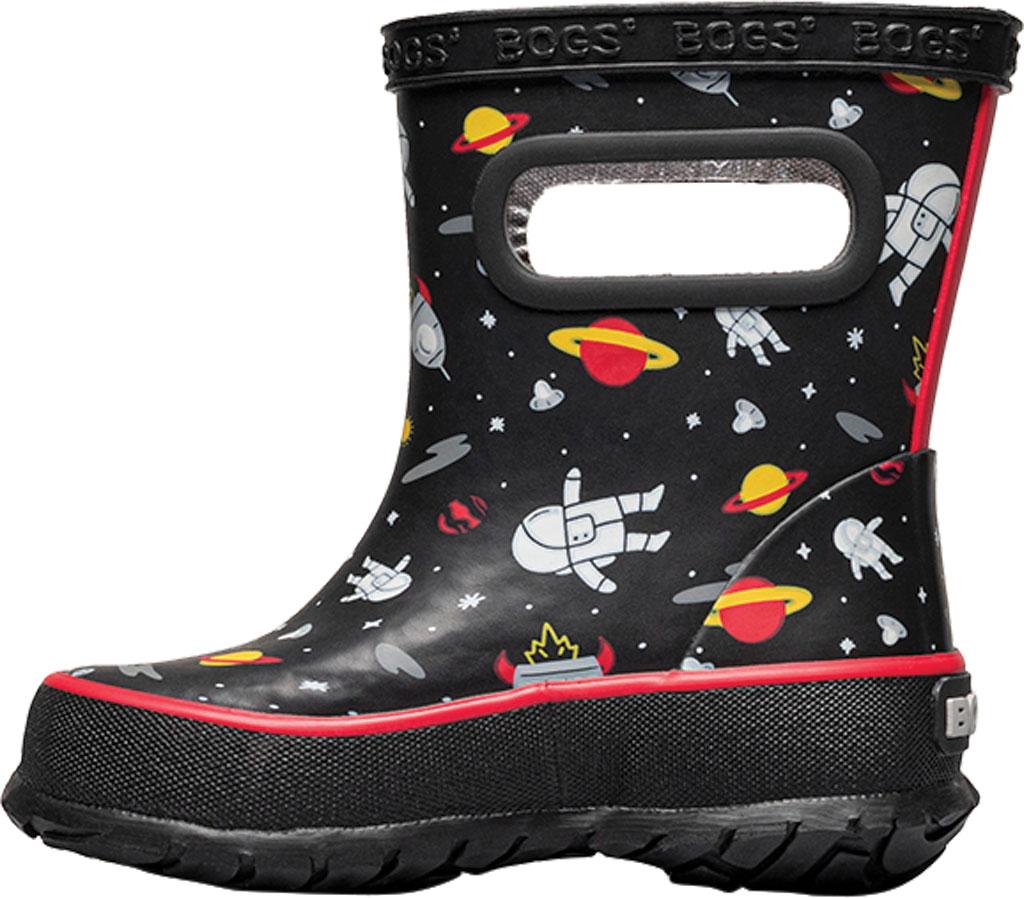 Infant Bogs Skipper Kids Boot, Black Multi/Space Man Rubber, large, image 3