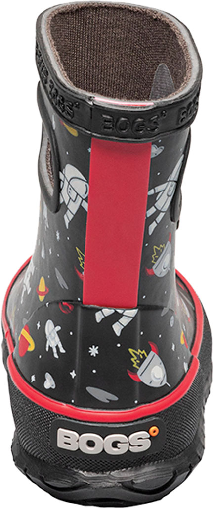 Infant Bogs Skipper Kids Boot, Black Multi/Space Man Rubber, large, image 4