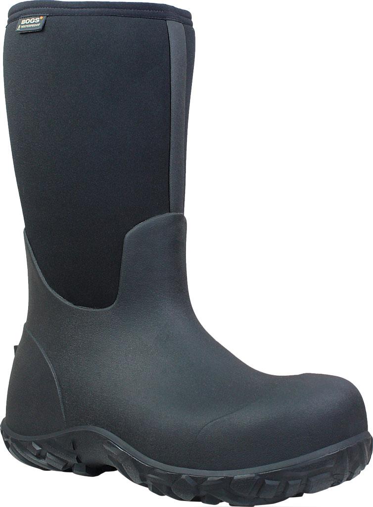 Men's Bogs Workman Boot, Black, large, image 1