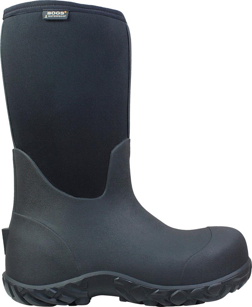 Men's Bogs Workman Boot, Black, large, image 2