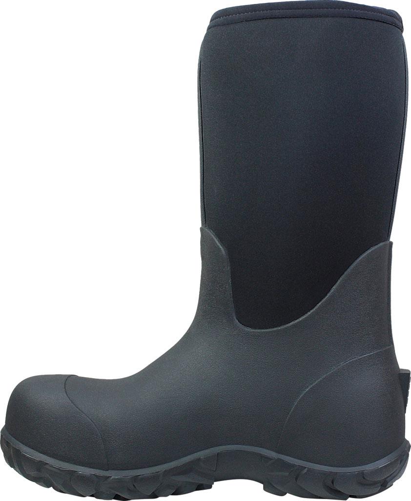 Men's Bogs Workman Boot, Black, large, image 3