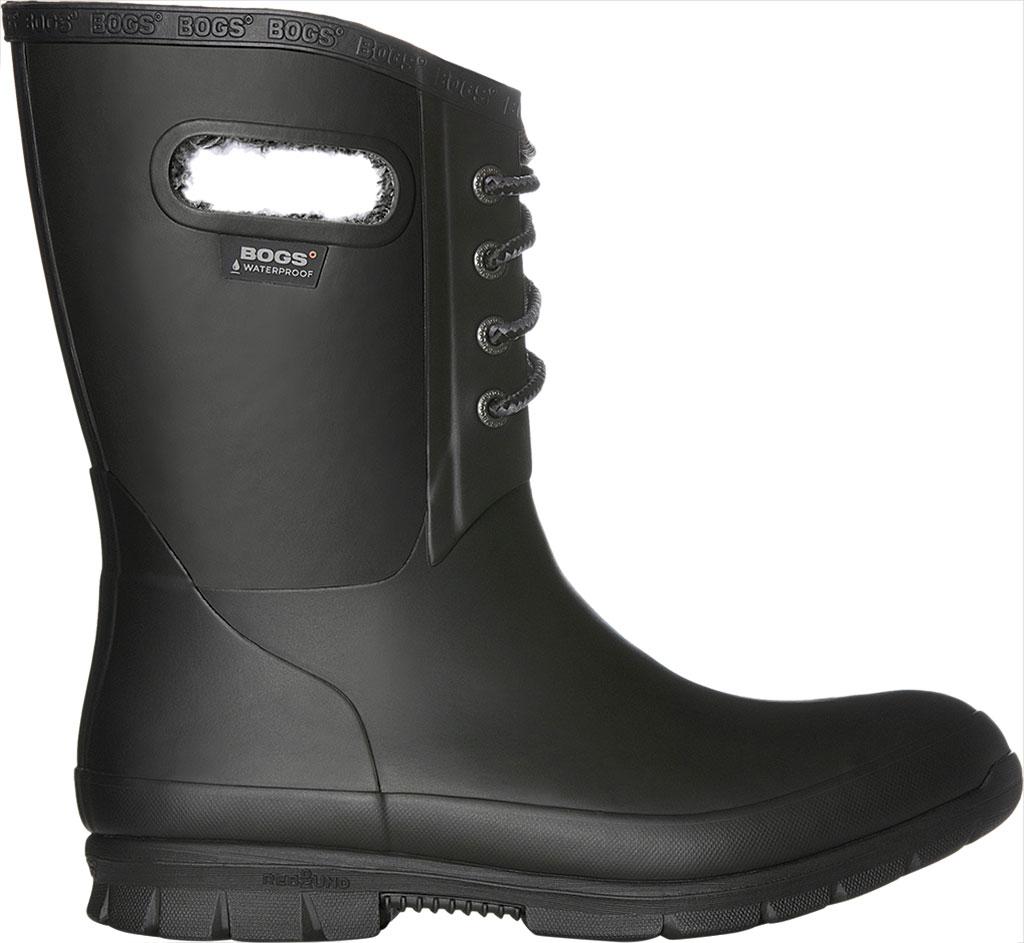 Women's Bogs Amanda Plush Boot, Black, large, image 2