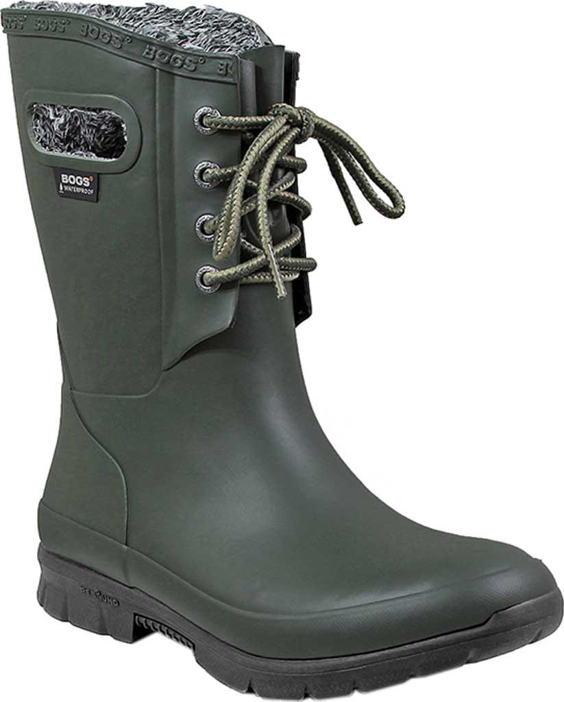 Women's Bogs Amanda Plush Boot, Dark Green, large, image 1