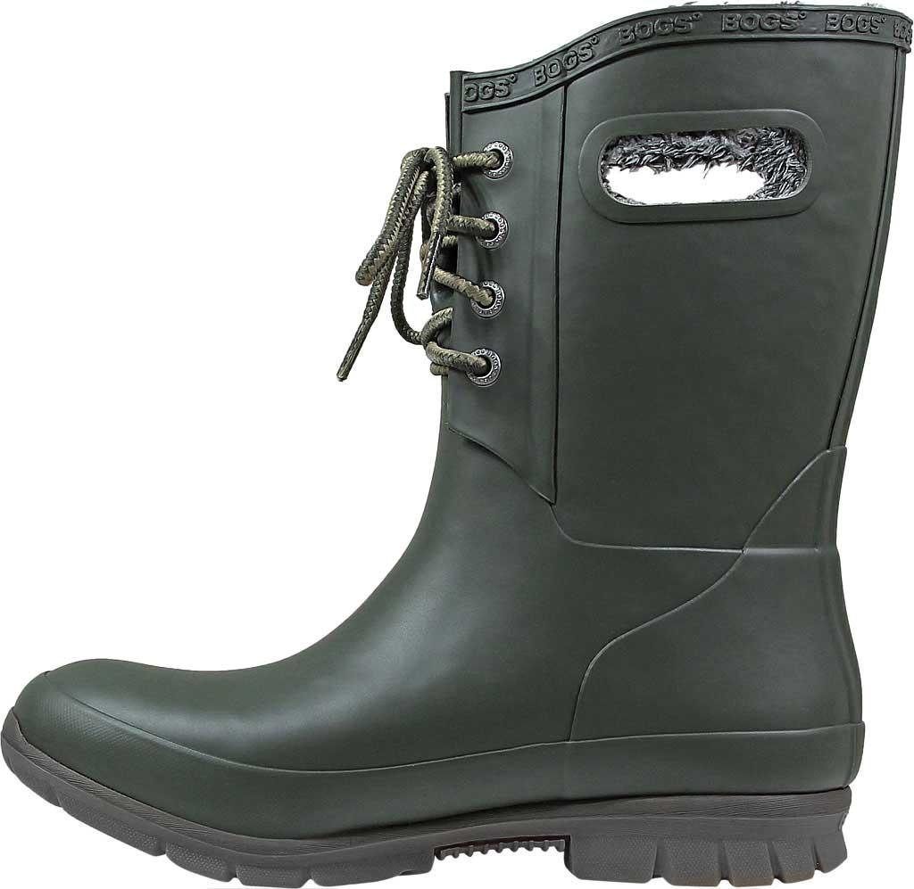 Women's Bogs Amanda Plush Boot, Dark Green, large, image 3
