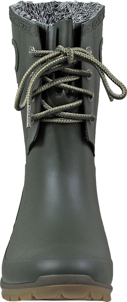 Women's Bogs Amanda Plush Boot, Dark Green, large, image 4