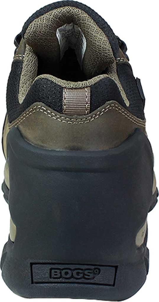Men's Bogs Foundation Leather Low Shoe, Brown Nubuck, large, image 2