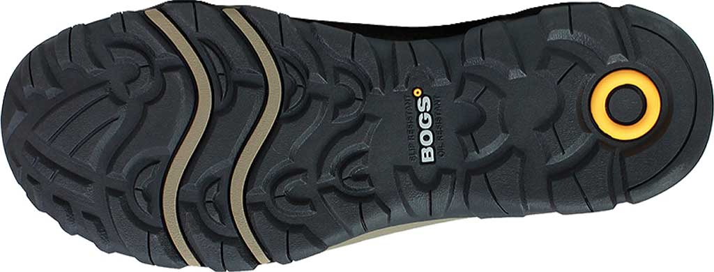 Men's Bogs Foundation Leather Low Shoe, Brown Nubuck, large, image 3