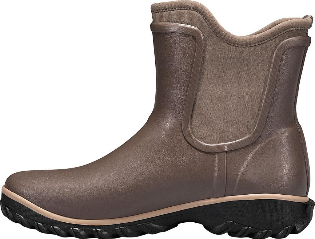 Women's Bogs Sauvie Slip On Boot, Black Rubber, large, image 3