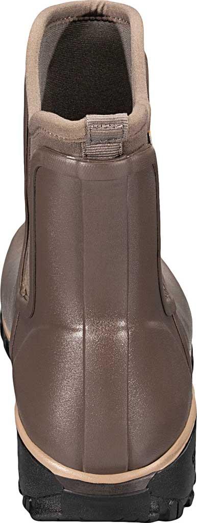 Women's Bogs Sauvie Slip On Boot, Black Rubber, large, image 4