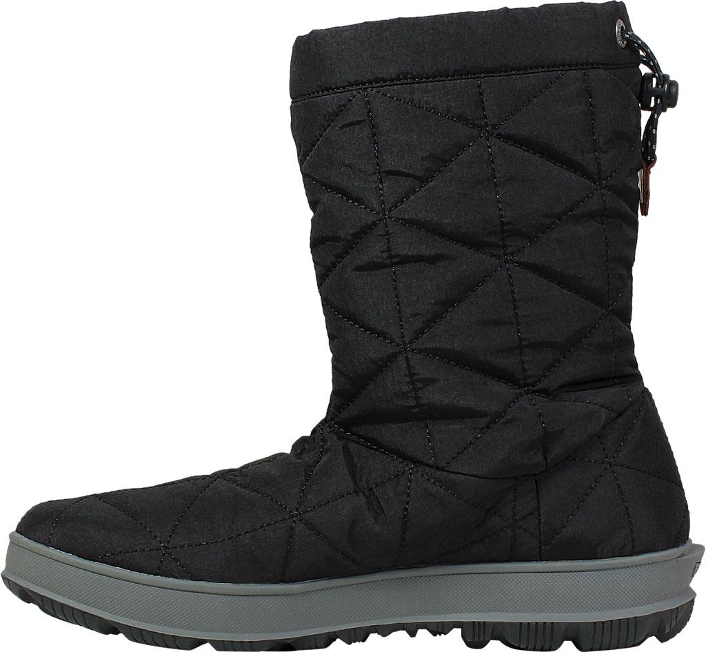 Women's Bogs Snowday Mid Boot, Black Nylon, large, image 3