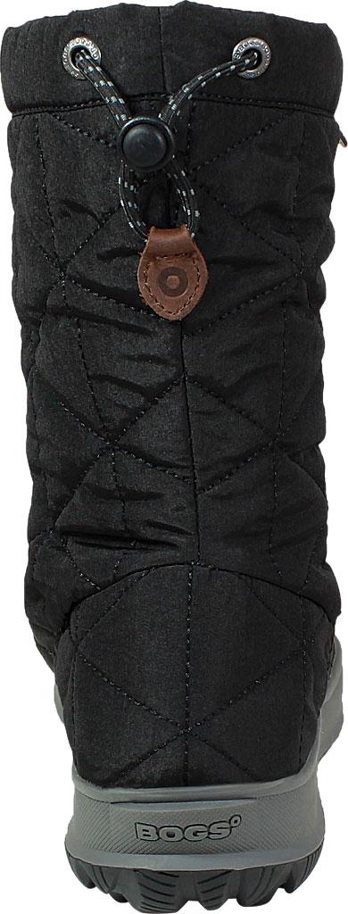 Women's Bogs Snowday Mid Boot, Black Nylon, large, image 4
