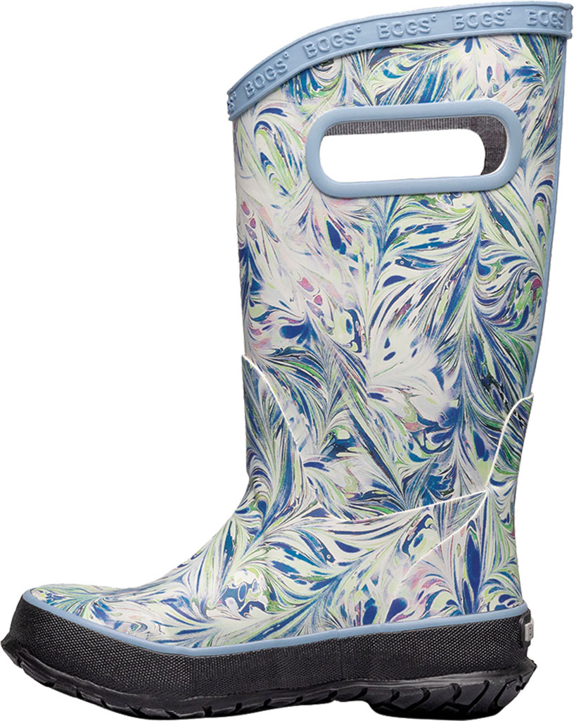 Children's Bogs Classic Rainboot, Periwinkle Marble Rubber, large, image 3