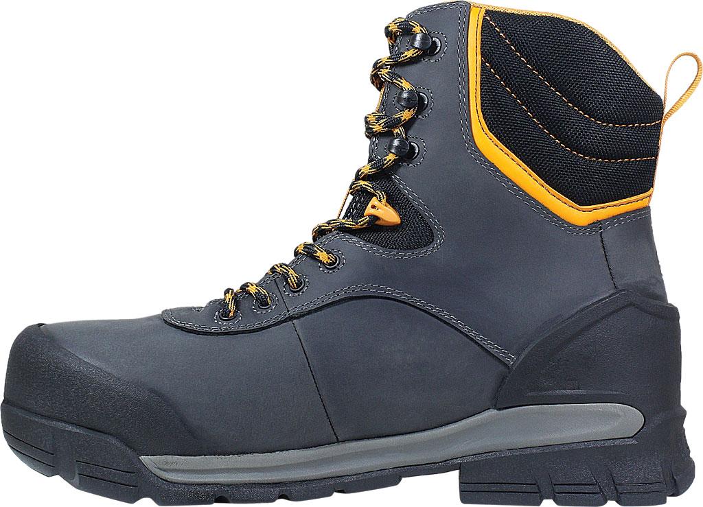 "Men's Bogs Bedrock 8"" Insulated Composite Toe Work Boot, Black Multi Leather, large, image 3"
