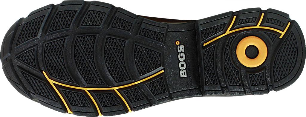 "Men's Bogs Bedrock 8"" Insulated Composite Toe Work Boot, Black Multi Leather, large, image 6"
