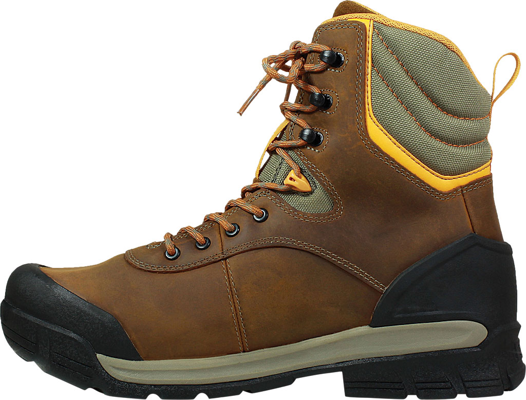 """Men's Bogs Bedrock 8"""" Insulated Composite Toe Work Boot, Brown Multi Leather, large, image 3"""