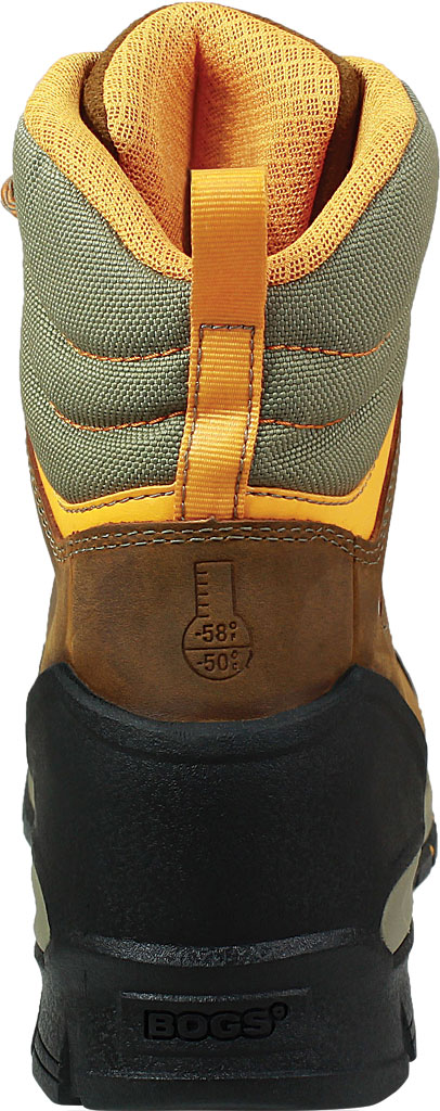 """Men's Bogs Bedrock 8"""" Insulated Composite Toe Work Boot, Brown Multi Leather, large, image 4"""