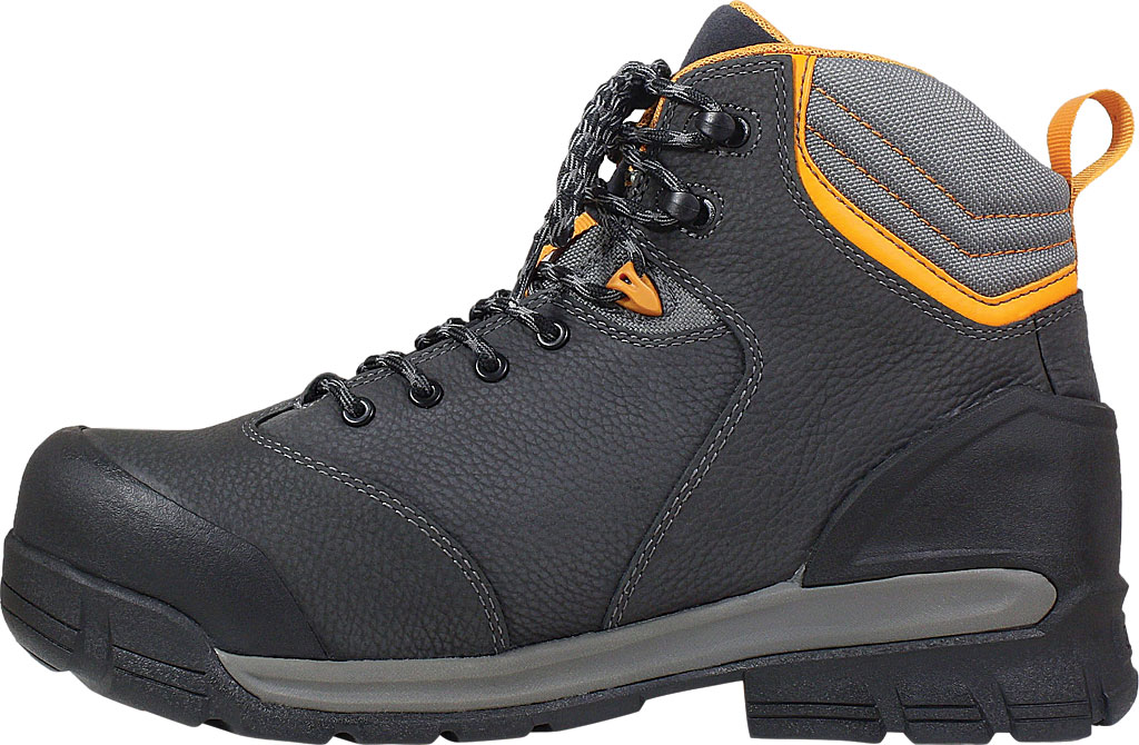 Men's Bogs Bedrock Mid Composite Toe Work Boot, Black Multi Leather, large, image 3