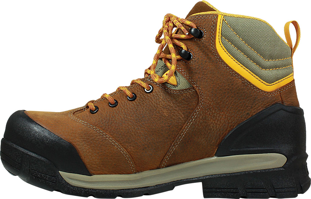 Men's Bogs Bedrock Mid Composite Toe Work Boot, Brown Multi Leather, large, image 3