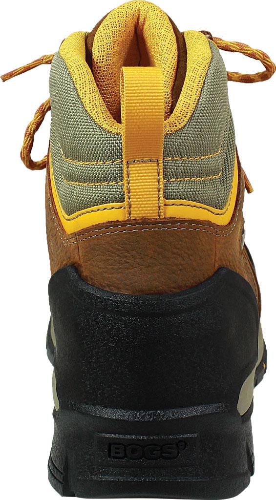 Men's Bogs Bedrock Mid Composite Toe Work Boot, Brown Multi Leather, large, image 4