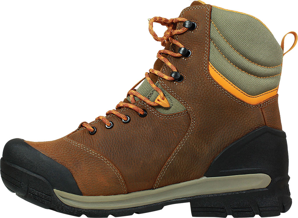 "Men's Bogs Bedrock 8"" Composite Toe Work Boot, Brown Multi Leather, large, image 3"