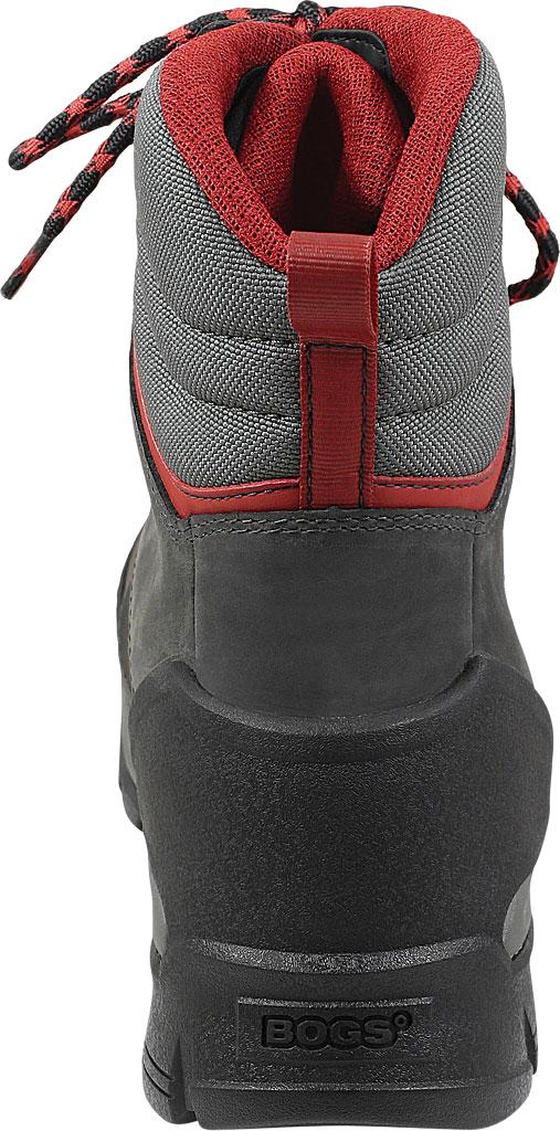"Men's Bogs Bedrock 8"" Composite Toe Work Boot, Black Multi Leather/Textile, large, image 4"