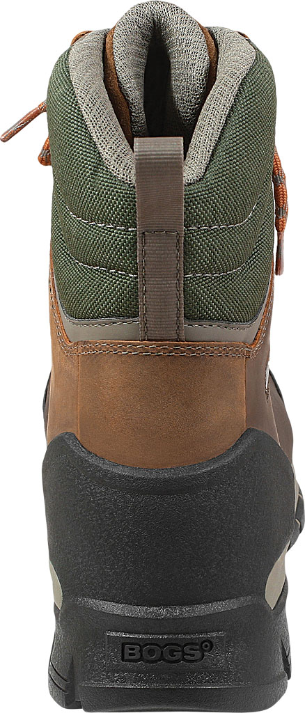 "Men's Bogs Bedrock 8"" Composite Toe Work Boot, Brown Multi Leather/Textile, large, image 4"