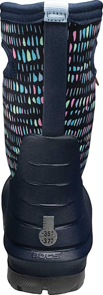Children's Bogs Neo-Classic Pull On Winter Boot, Dark Blue Twinkle Multi Rubber/Nylon, large, image 4