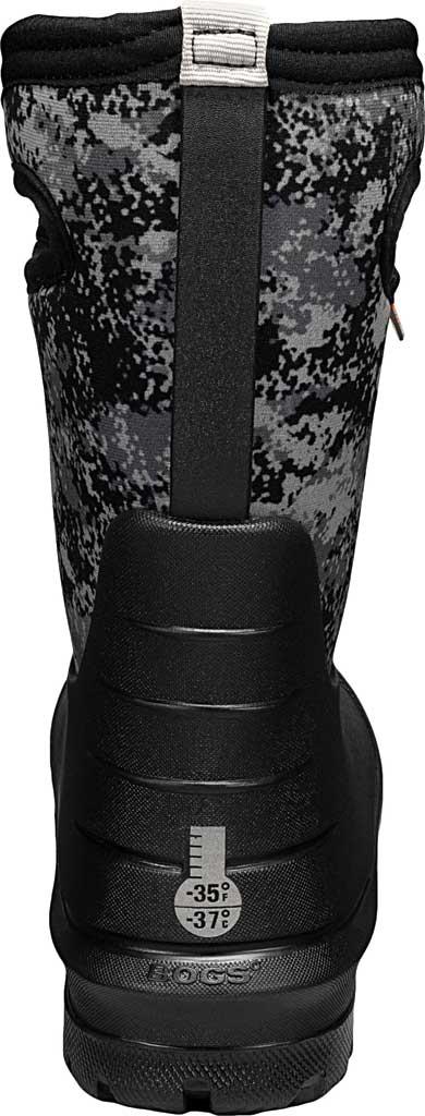 Children's Bogs Neo-Classic Pull On Winter Boot, Black Multi Bigfoot Rubber/Nylon, large, image 4