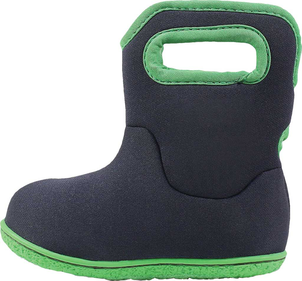 Infant Bogs Baby Bogs Waterproof Bootie, Navy Solid Polyester, large, image 3