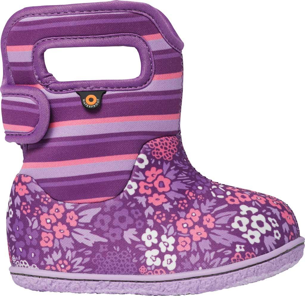 Infant Bogs Baby Bogs Waterproof Bootie, Purple Multi NW Garden Polyester, large, image 1