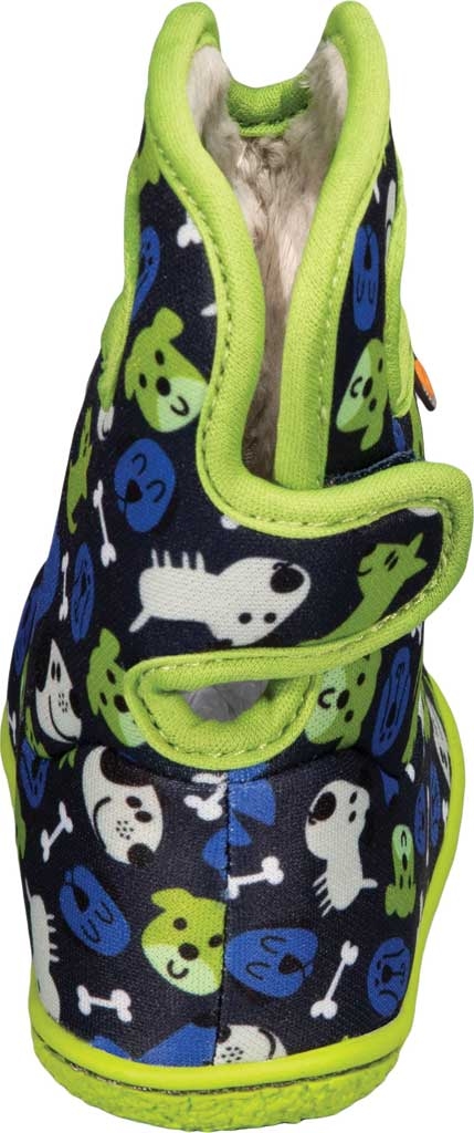 Infant Bogs Baby Bogs Waterproof Bootie, Blue Multi Puppies Polyester, large, image 4
