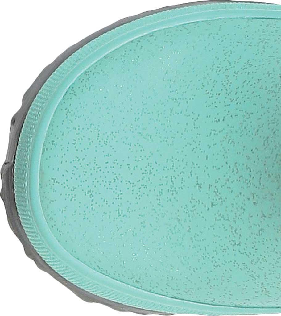 Infant Bogs Skipper Glitter Rain Boot, Turquoise Rubber, large, image 4