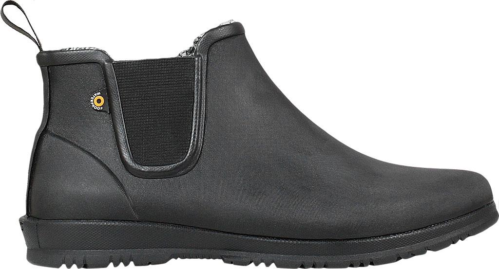 Women's Bogs Sweetpea Chelsea Winter Boot, Black Rubber, large, image 2