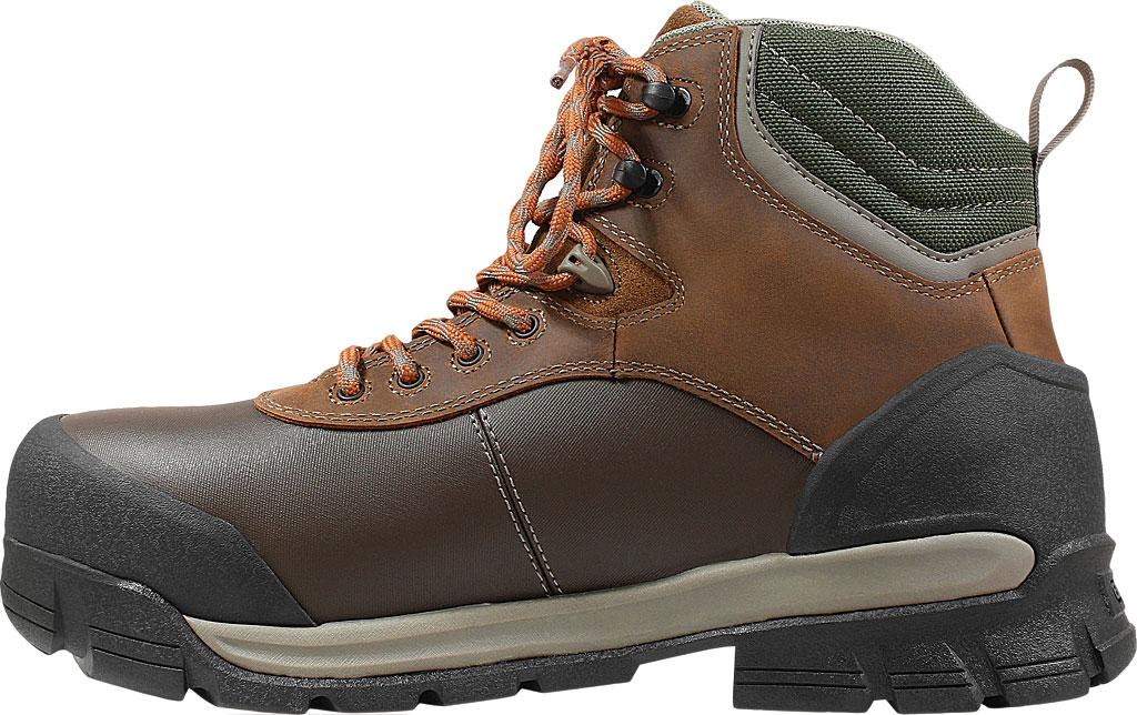 "Men's Bogs Bedrock Shell 6"" Composite Toe Work Boot, Brown Multi Leather, large, image 3"