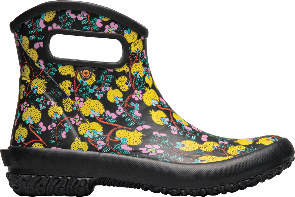 Women's Bogs Patch Waterproof Ankle Bootie, Black Multi/Wang Ting Fang (Roots Studio) Rubber, large, image 2