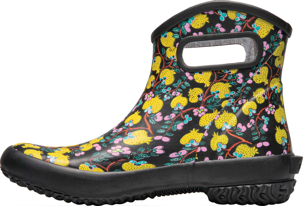 Women's Bogs Patch Waterproof Ankle Bootie, Black Multi/Wang Ting Fang (Roots Studio) Rubber, large, image 3