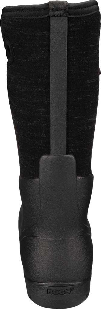 Women's Bogs Neo Classic Waterproof Rain Boot, Black Multi Melange Rubber/Textile, large, image 4
