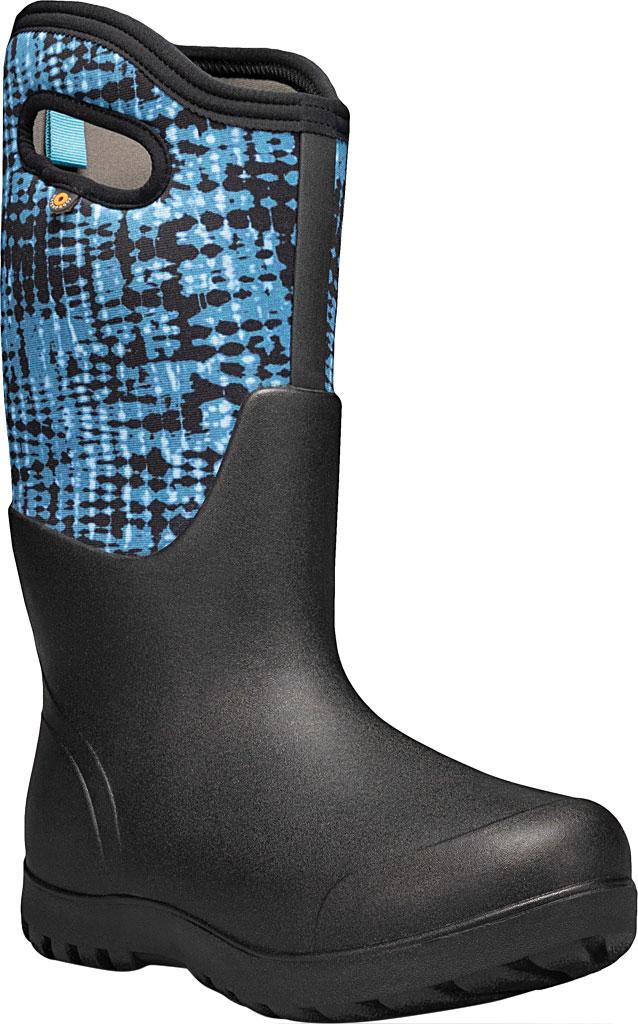 Women's Bogs Neo Classic Waterproof Rain Boot, Blue Multi Tie-Dye Rubber/Textile, large, image 1
