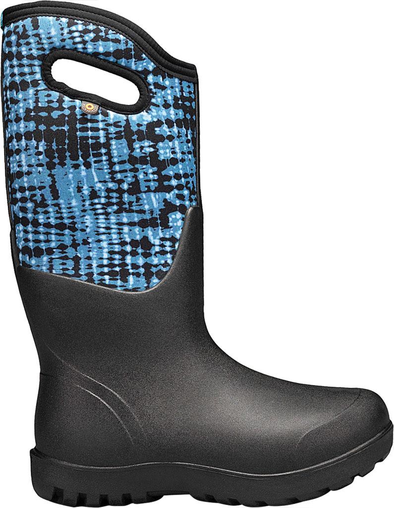 Women's Bogs Neo Classic Waterproof Rain Boot, Blue Multi Tie-Dye Rubber/Textile, large, image 2