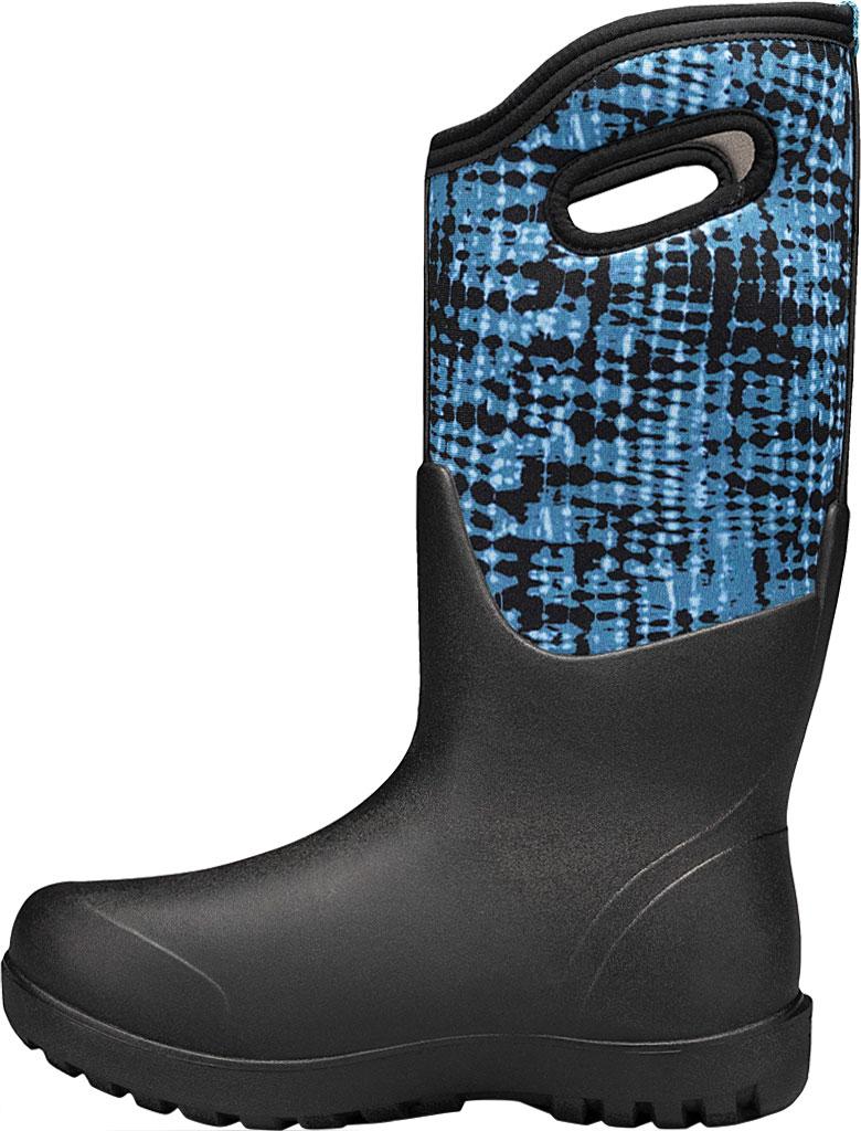 Women's Bogs Neo Classic Waterproof Rain Boot, Blue Multi Tie-Dye Rubber/Textile, large, image 3