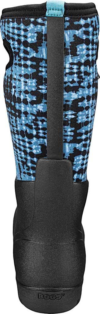 Women's Bogs Neo Classic Waterproof Rain Boot, Blue Multi Tie-Dye Rubber/Textile, large, image 4