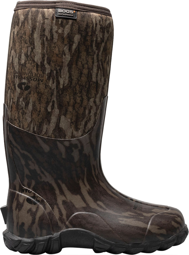 Men's Bogs Classic Camo Bottomland Waterproof Boot, Mossy Oak Rubber/Textile, large, image 2