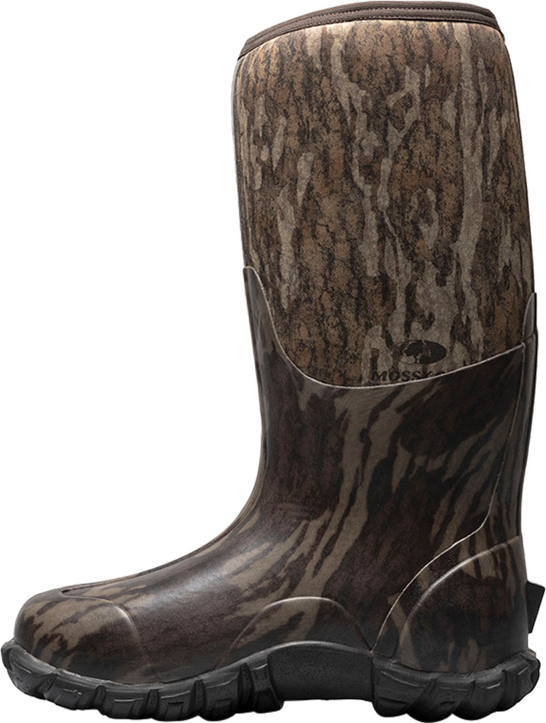Men's Bogs Classic Camo Bottomland Waterproof Boot, Mossy Oak Rubber/Textile, large, image 3